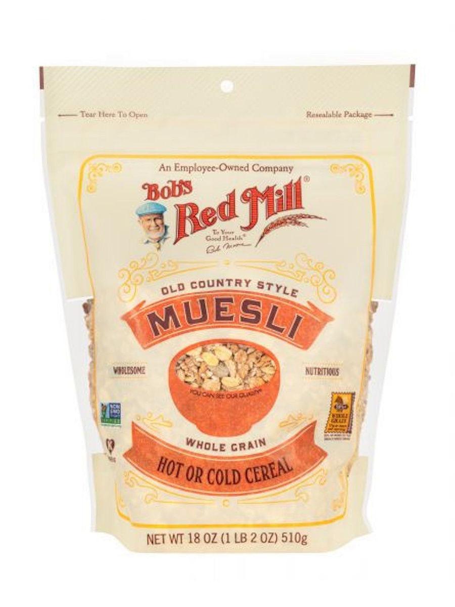 Мюсли По-Американски, Vegan, Whole Grain, NON GMO, Kosher, 510 гр.