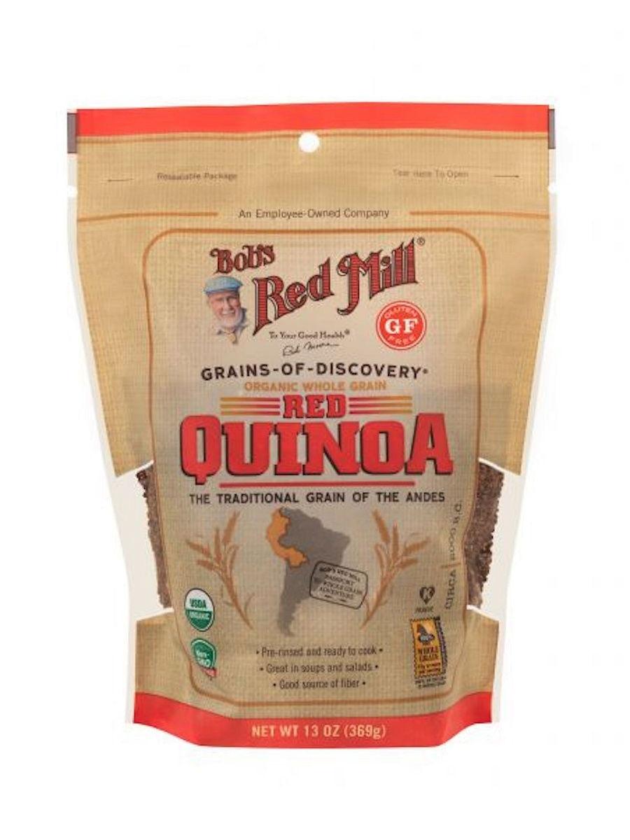 Киноа Красное, USDA Organic, Gluten Free, NON GMO, Kosher, 369 гр.