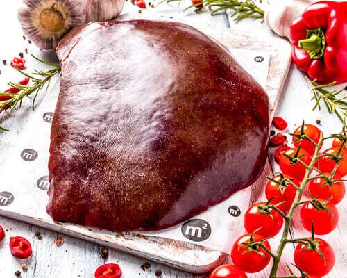 Печень говяжья шоковая заморозка, Ферма М2, 0,5кг