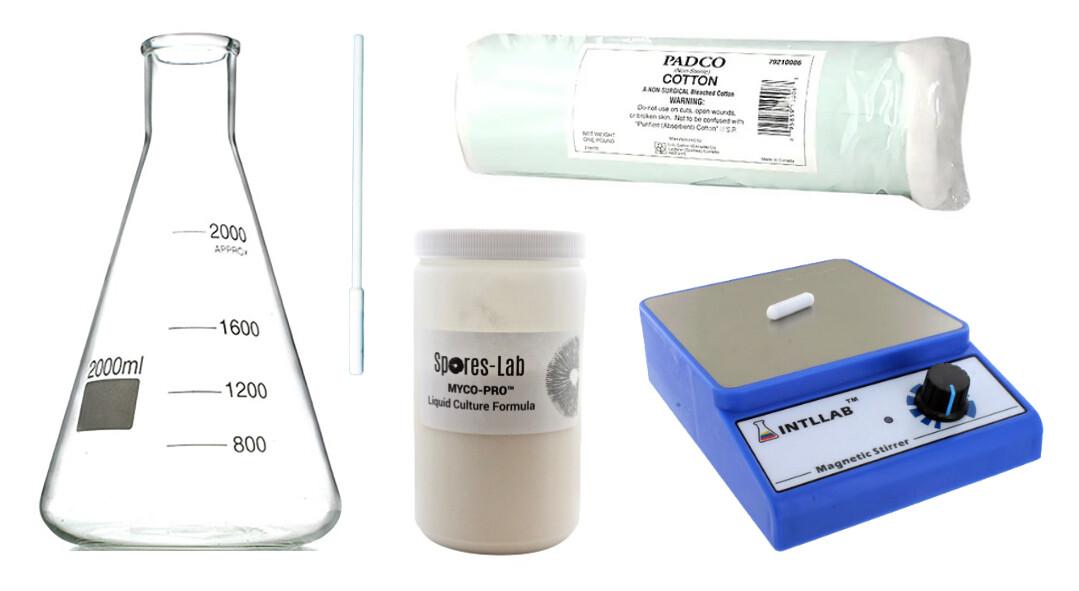 Mushroom Liquid Culture Making Kit