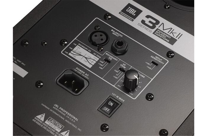 JBL 305P MkII Powered 5″ Two-Way Studio Monitor #監聽喇叭 #speaker