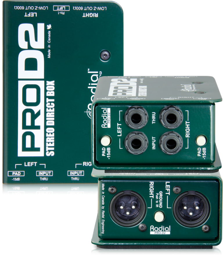 Radial Stereo Passive Direct Box