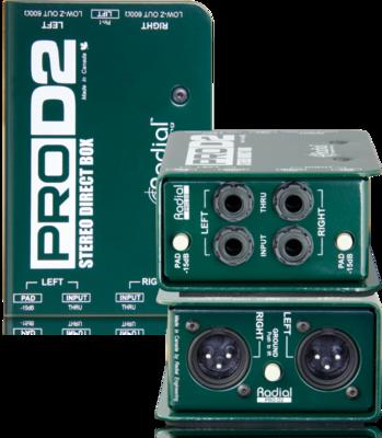 Radial Stereo Passive Direct Box