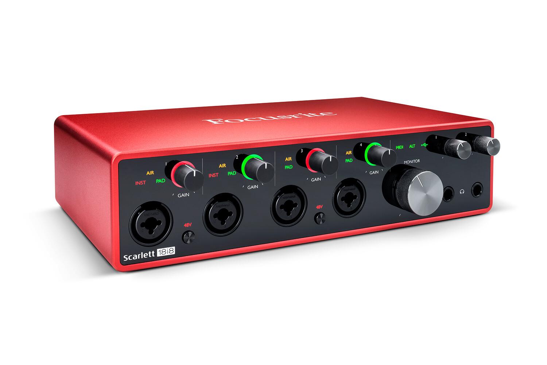 Focusrite Scarlett 18i8 usb audio interface (3rd Generation)