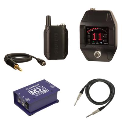 【11月優惠】Shure GLXD16  無綫結他系統套裝 (連: Samson MD1 di box + Canare 1.5米 cable)