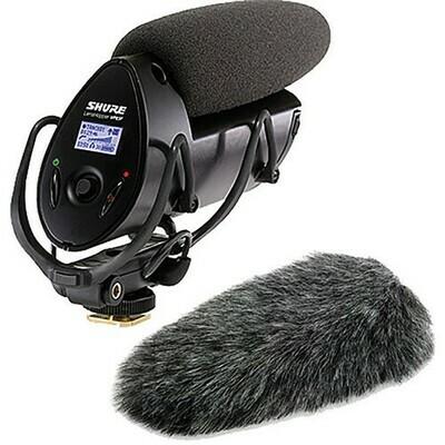 【10月優惠】Shure VP83F 機頂拍攝咪(內置錄音,LCD 顯示) 連 Rycote 055447 Windjammer