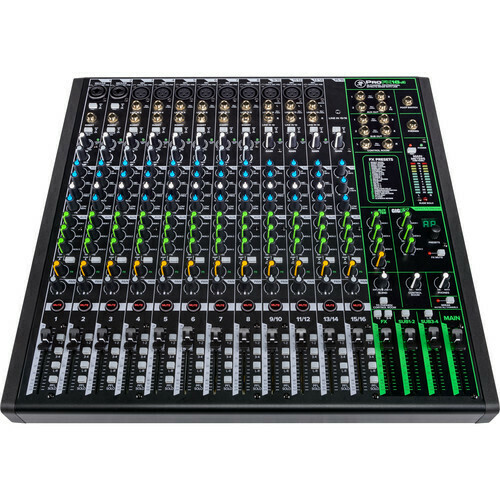 Mackie ProFX16v3 16-channel mixer with effects