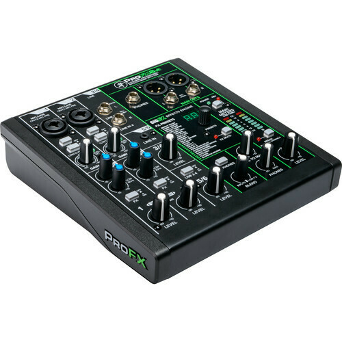 Mackie ProFX6v3 6-Channel mixer built-in FX