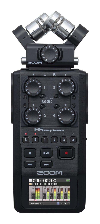 Zoom H6 BLACK 手提錄音機 professional recorder