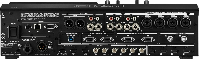 Roland VR-50HD MK II Multi-Format AV Mixer
