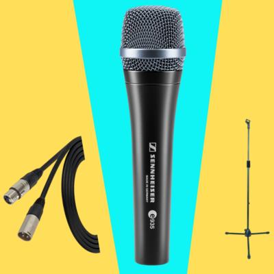 【8月優惠套裝】Sennheiser e935 人聲動圈咪 + 連3米 Canare cable + NB303 mic stand