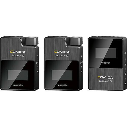 Comica BoomX-D D2 一拖二無線咪 2.4G 數碼傳輸