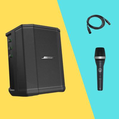 【9月優惠】 Bose S1 Pro busking amplifier , 送 AKG D5S + 咪線(3米)