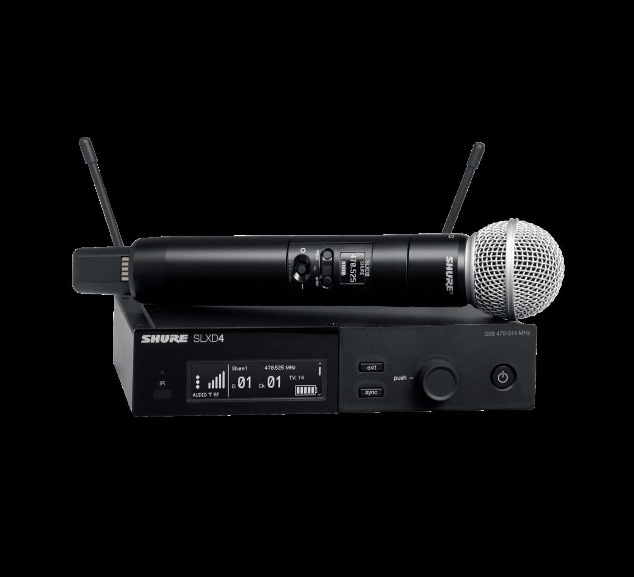 Shure SLXD24/SM58 (Wireless System with SM58® Handheld Transmitter)