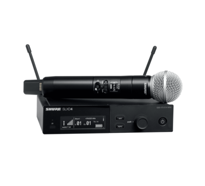 Shure SLXD24/SM58 (Wireless System with SM58® Handheld Transmitter)