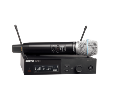 Shure SLXD24/B87A (Wireless System with Beta®87A Handheld Transmitter)