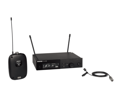 Shure SLXD14/93 (Wireless System with SLXD1 Bodypack Transmitter and WL93 Lavalier Microphone)