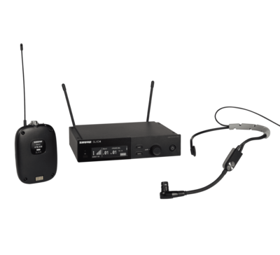 Shure SLXD14/SM35 (Wireless System with SLXD1 Bodypack Transmitter and SM35 Headset Microphone)