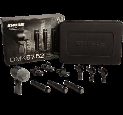 【11月優惠】Shure DMK57-52 Drum Microphone Kit (只限3套)