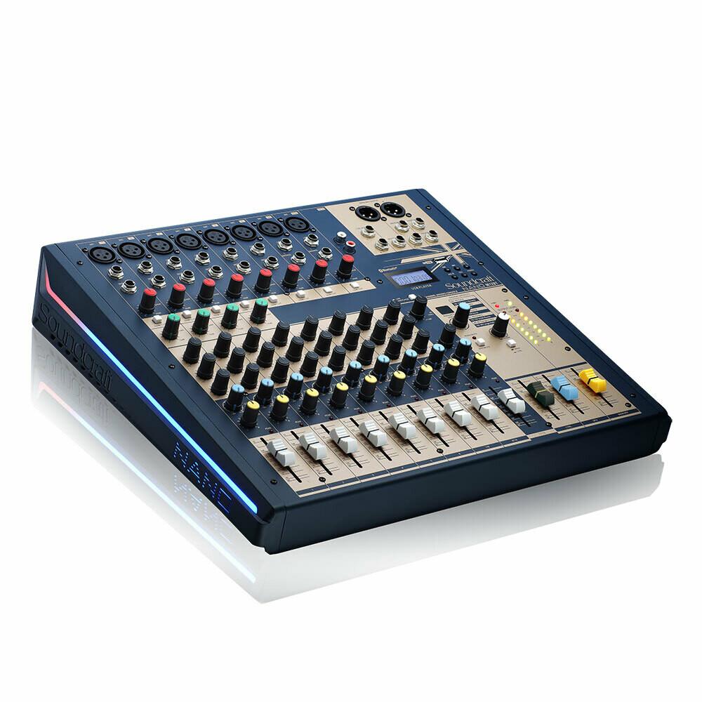 Soundcraft Nano M12BT (支持藍牙的12 通道緊湊型模擬調音台)