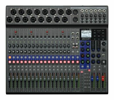 Zoom LIVETRAK L-20 (Digital mixer and multitrack recorder)