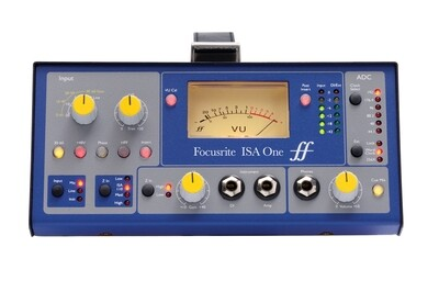 Focusrite ISA ONE (classic mic pre with independent DI)