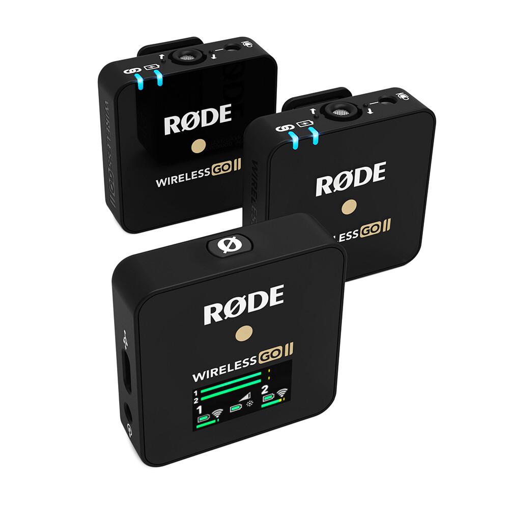 RODE Wireless GO II (雙無線收音咪套裝)