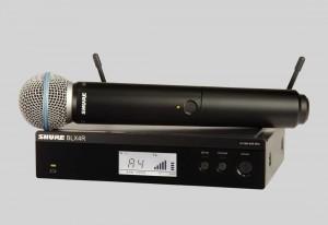 Shure BLX24R/BETA58 手持式無線系統