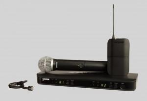 Shure BLX1288/PG185 人聲/領夾式組合無線系統