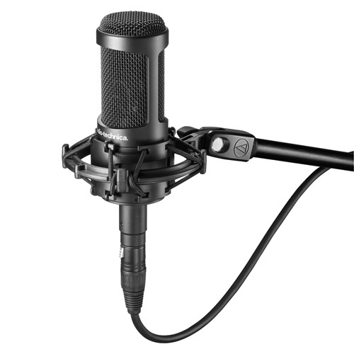 Audio Technica AT2035 microphone (Cardioid Condenser Microphone)