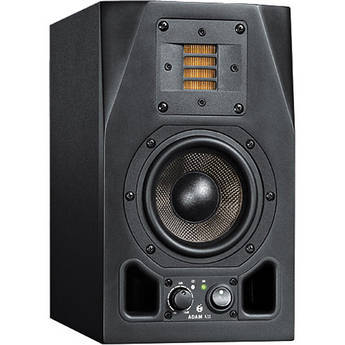 "Adam Professional Audio A3X 4.5"" 50W Active 2-Way Studio Monitor Speaker"