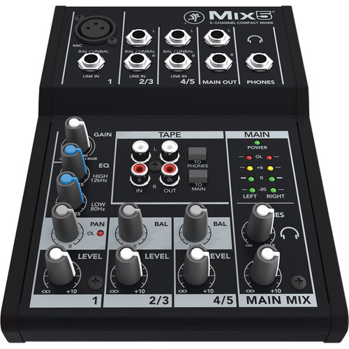 Mackie Mix5 (5 channel compact mixer)