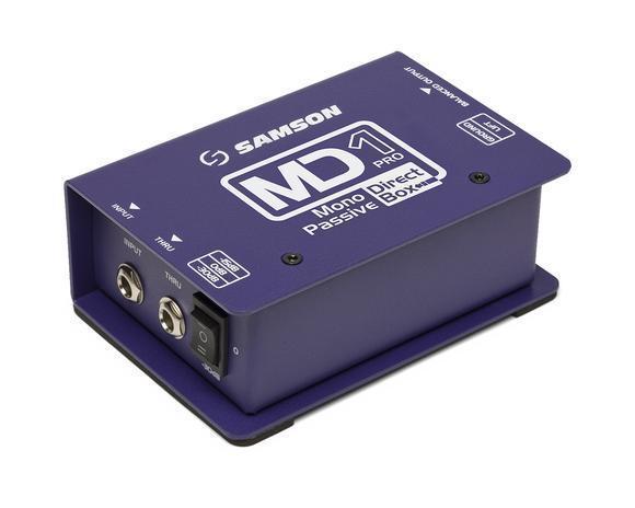 Samson MD1 Pro - Mono Passive Direct Box