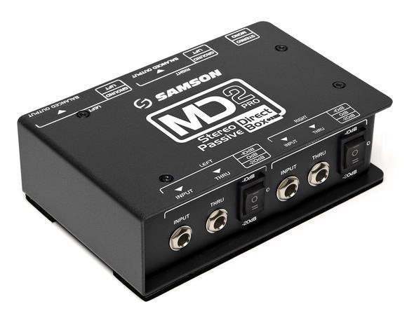 Samson MD2 Pro - Stereo Passive Direct Box