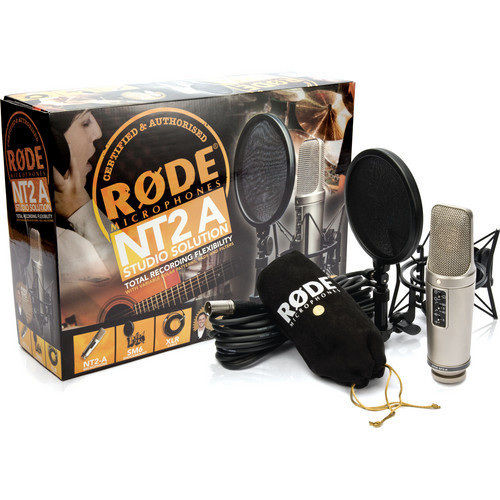 Rode NT2-A large diaphram microphone set