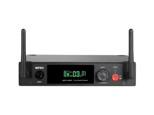 Mipro ACT-2401 1/2U Single-Channel Digital Receiver