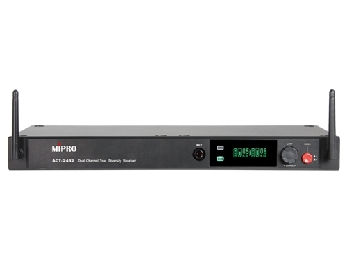 Mipro ACT-2412 1U Dual-Channel Digital Receiver