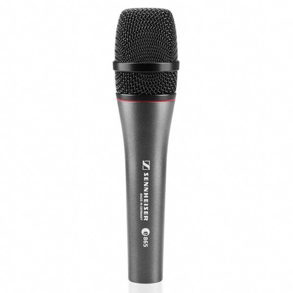 Sennheiser E865 - Super-Cardioid Handheld Condenser Microphone