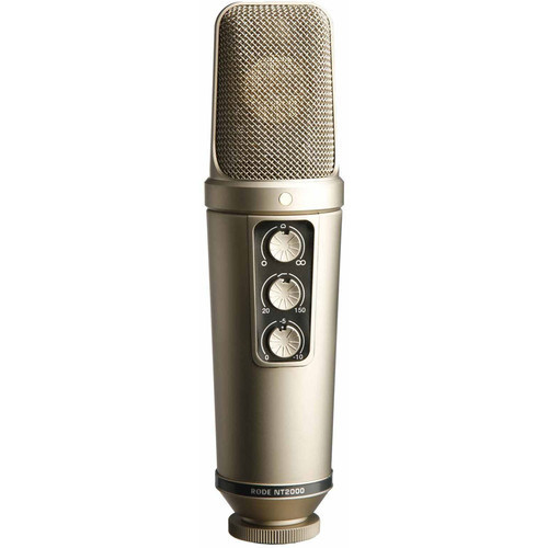 "RODE NT2000 (Seamlessly Variable Dual 1"" Condenser Microphone)"