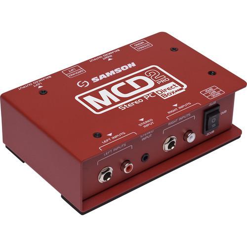 Samson S-MAX MCD2 Pro 2-Channel Passive PC Direct Box