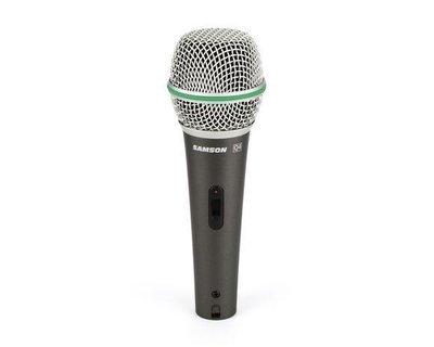 【8月優惠】Samson Q4 Dynamic mic (含便攜袋,咪線,咪夾)