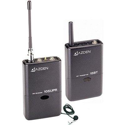 Azden 105LT UHF 無線DSLR 收音咪