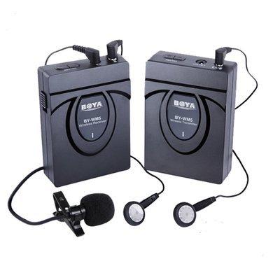 BOYA WM5 wireless microphone (2.4Ghz)
