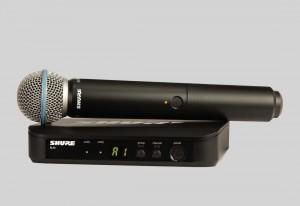 Shure BLX24/BETA58 手持式無線系統