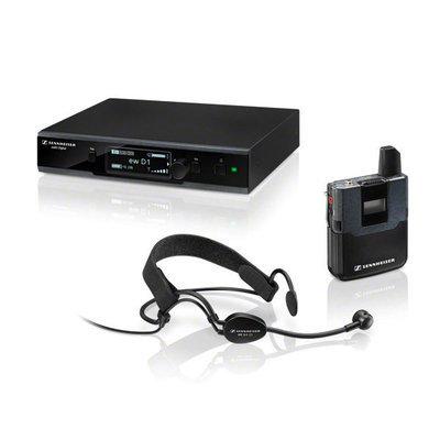 Sennheiser EW D1-ME 2 wireless lavalier microphone digital system (