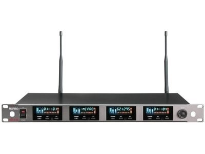 Mipro ACT-747 Quad-Channel True Diversity Receiver