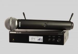 Shure BLX24R/SM58 手持式無線系統