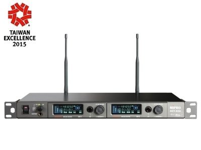 Mipro ACT-828 Wideband Dual-Channel Digital Receiver