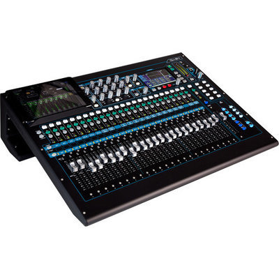 Allen & Heath Qu-24C 30-In/24-Out Digital Mixer (Chrome Edition)