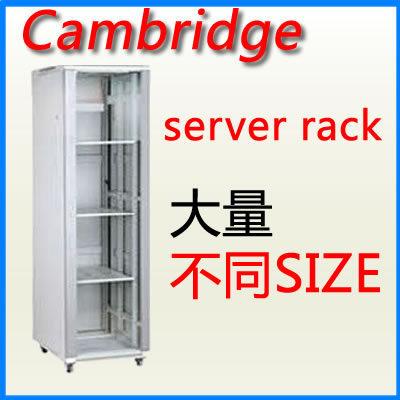 Cambridge server rack 18U 800 x 900 落地型 網絡機櫃